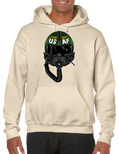 USA Air Force Aviator Pilot Pullover Hoodie Hooded Sweatshirt - Vovo Inc