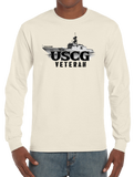 U.S. USCG Coast Guard VETERAN Pride Honor Courage Bravery Served Long Sleeve T-Shirt - Vovo Inc