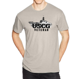 U.S. USCG Coast Guard VETERAN Pride Honor Courage Bravery Served Short Sleeve T-Shirt - Vovo Inc