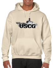 U.S. USCG Coast Guard Pride Honor Courage Bravery Served Hoodie Hooded Pullover Sweatshirt - Vovo Inc