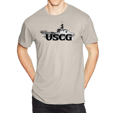 U.S. USCG Coast Guard Pride Honor Courage Bravery Served Short Sleeve T-Shirt - Vovo Inc