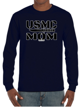 U.S. Marine USMC Mom Long Sleeve T-Shirt - Vovo Inc