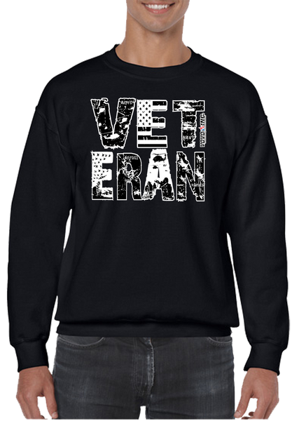 6a031c348 USA US Military Veteran Marine Army Navy Coast Guard Air Force Crew Neck  Sweatshirt - Vovo