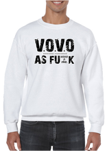 VOVO As F#@K Veteran Owned Veteran Operated Personal Pride Crew Neck Sweatshirt - Vovo Inc