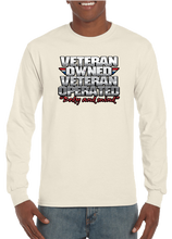 Veteran Owned Veteran Operated Mind and Body Long Sleeve T-Shirt - Vovo Inc