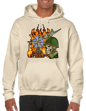 World War 2 Skull Hoodie Hooded Pullover Sweatshirt - Vovo Inc