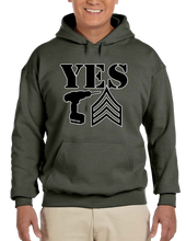 Yes Drill Sergeant Hoodie Hooded Pullover Sweatshirt - Vovo Inc