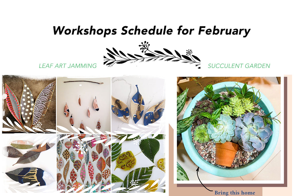 WORKSHOPS IN FEBRUARY