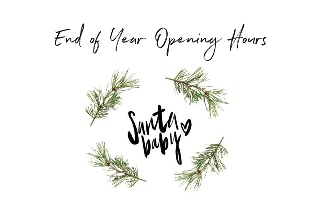END OF YEAR OPENING HOURS