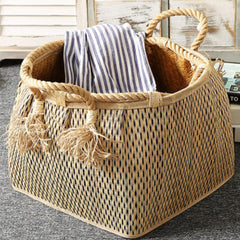 silver-grey basket