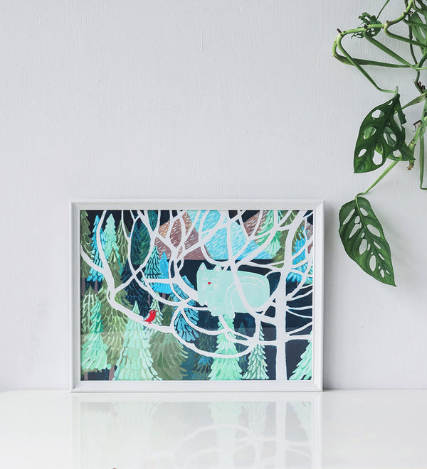 Art Prints by Danielle Tay - 'It's Winter Time'