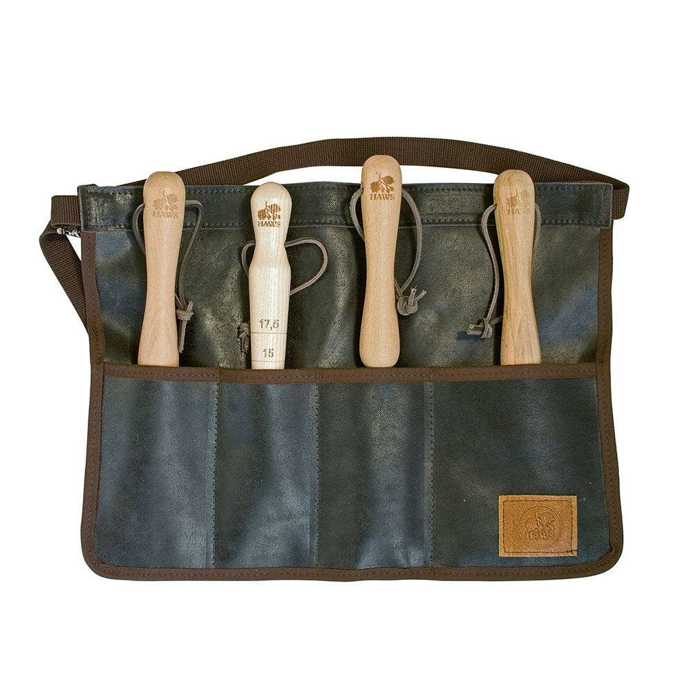 Haws Leather Tool Roll Apron
