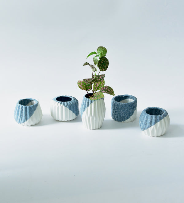 Geometric Mini Pots