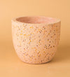 Egg Cement Pot Pink
