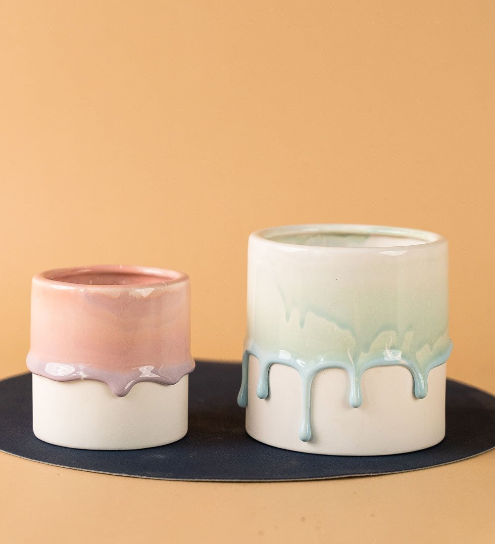 Melting Ceramic Pots