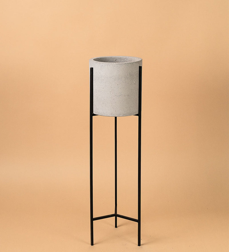 Tall Cement Stand