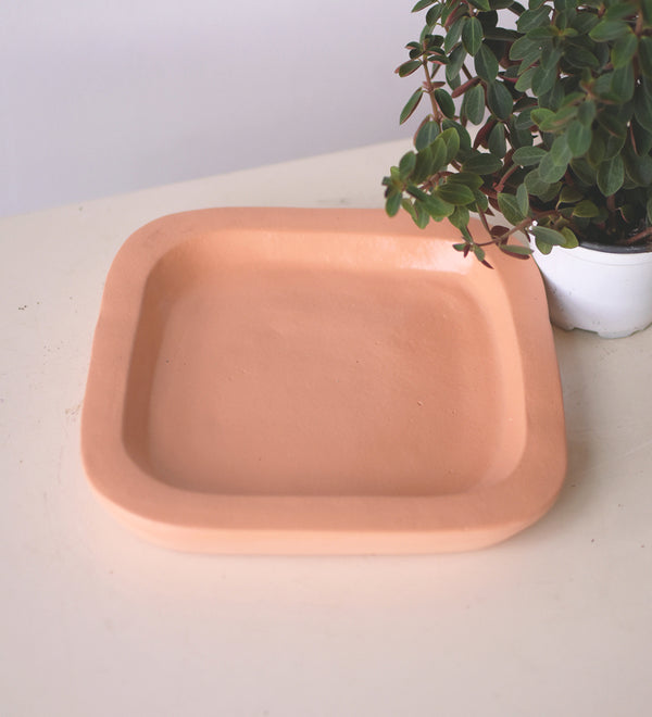 Terracotta water tray