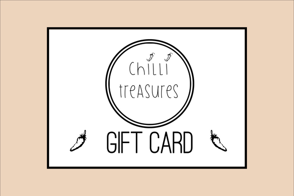 Chilli Treasures Gift Card