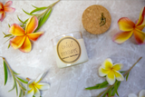 Hawaiian Frangipani Vegan Soy Candle -  Chilli Treasures