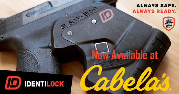 Order your IDENTILOCK from Cabela's NOW!