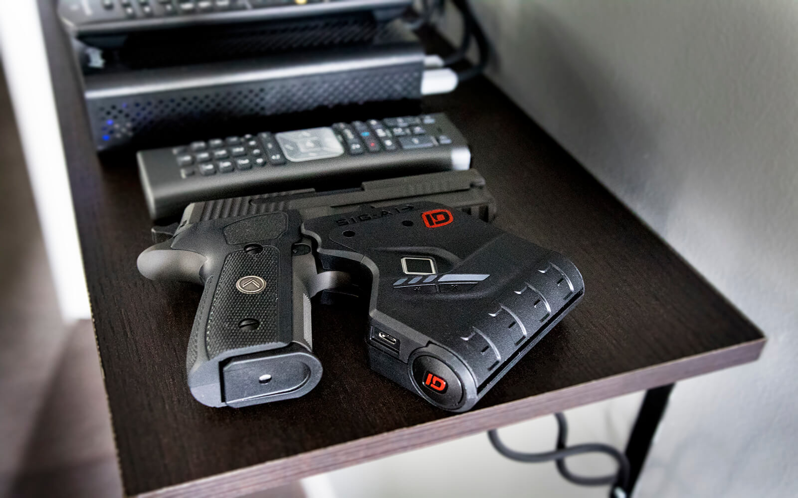 Biometric Fingerprint Gun Lock in Home