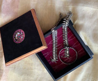 Temple jewellery design - mixed media box