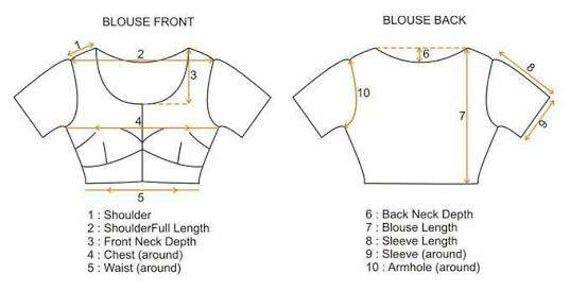 Blouse stitching - basic