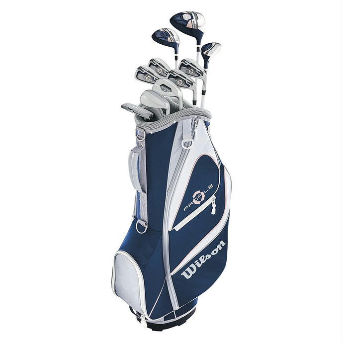 Wilson Women Profile XD Golf Complete Set Cart - Left Hand