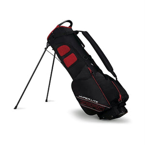 Callaway Hyper Lite Zero Stand Bag - Black-Red-White