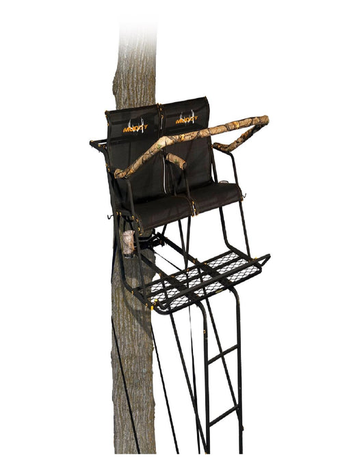 Muddy Stronghold 2.5 XTL w-Tree Lok System 18ft Ladderstand
