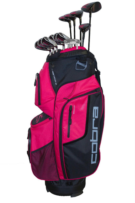 Cobra Complete Set F-Max Graphite Ladies CS13 with Bag