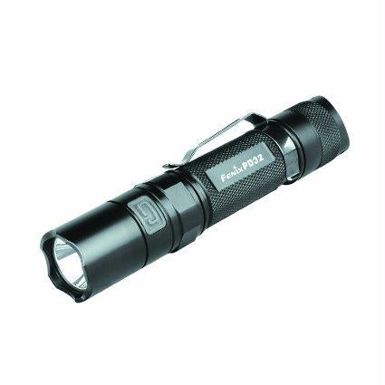 Fenix PD32 900 Lumen PD Flashlight Black