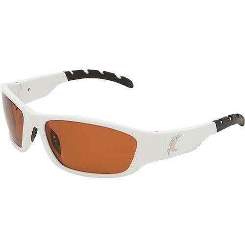 Vicious Vision Venom White Pro Series Sunglasses-Copper