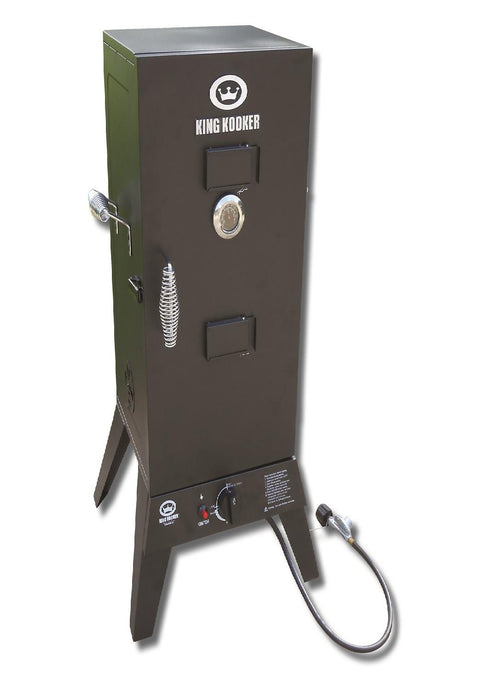 King Kooker #2113-Low Pressure Smoker with 30in Cabinet