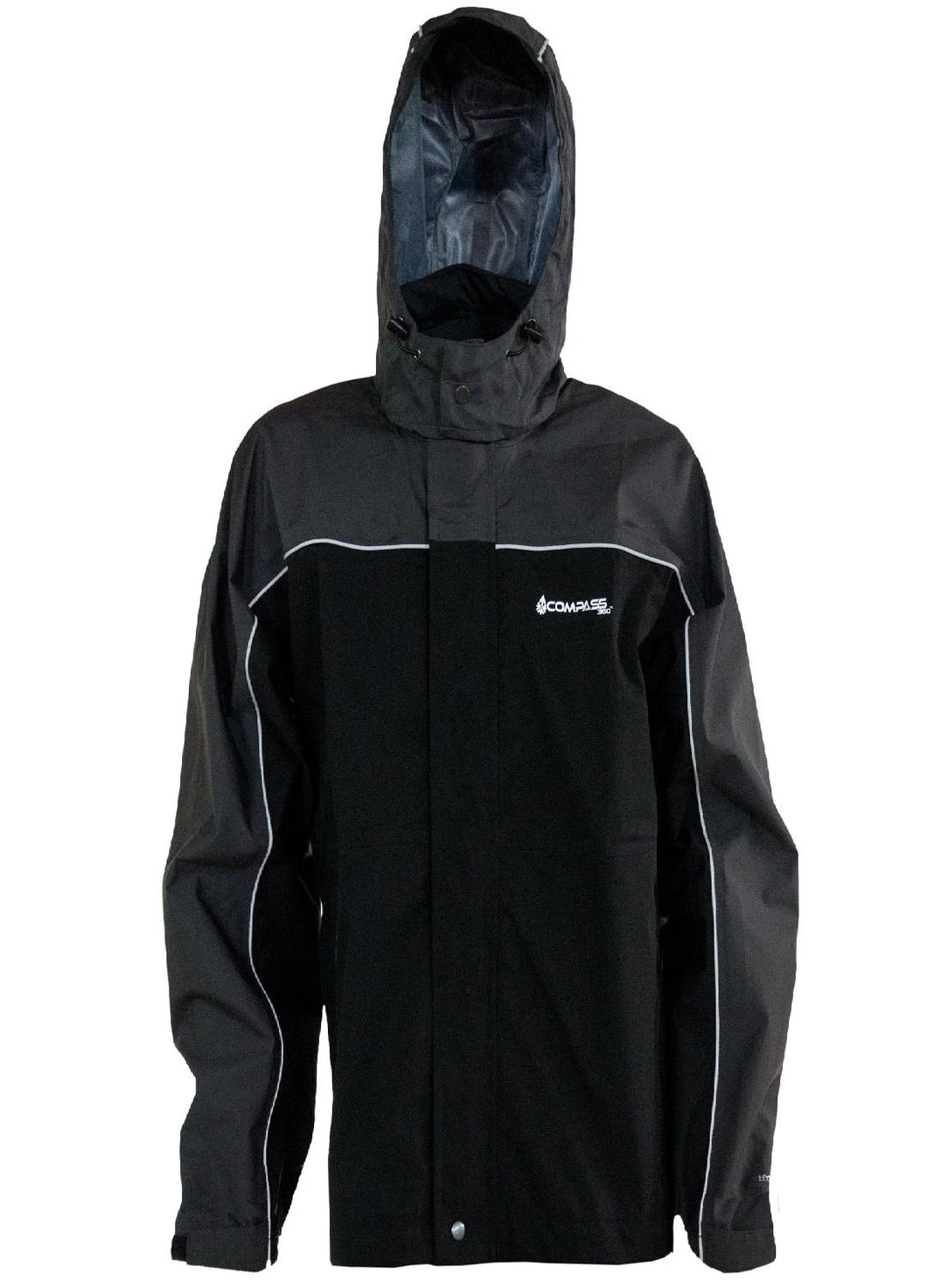 Compass 360 RoadForce Reflective Riding Jacket-Slate-Blk-XX