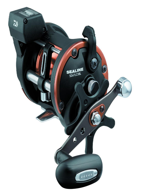 Daiwa Sealine SG-3B Line Counter Reel XXH-H 6.1:1