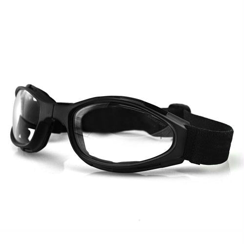Bobster Crossfire Small Folding Goggles Anti-fog Clear Lens