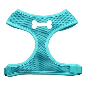 Bone Design Soft Mesh Harnesses Aqua Small