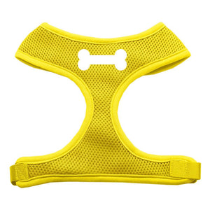 Bone Design Soft Mesh Harnesses Yellow Extra Large