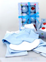 Blooms Gift Set- Blue 6pc
