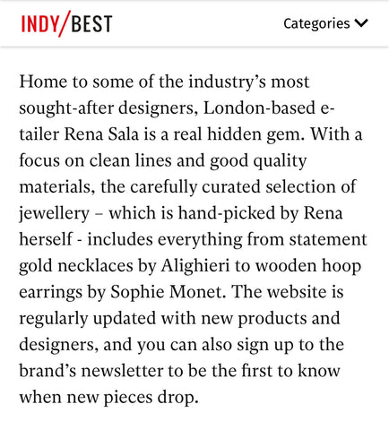 Independent 25 best online jewellery shops