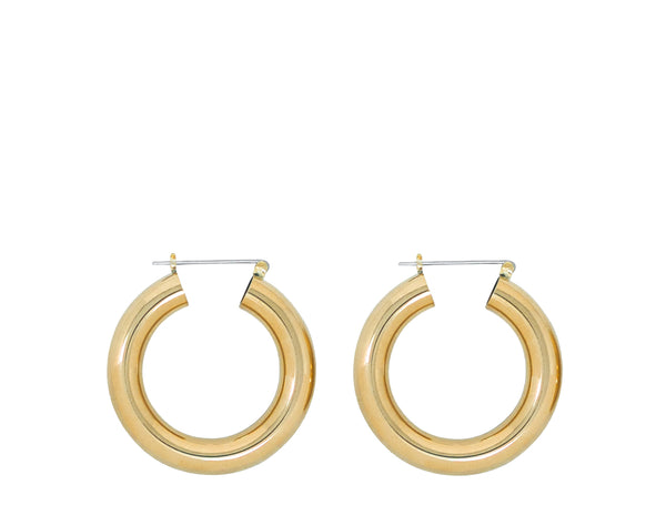 Laura Lombardi Round hoop earrings at Rena Sala store