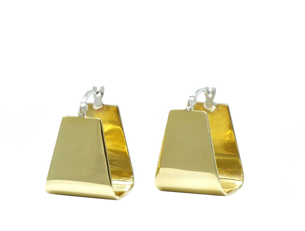 Petite trapezoid earrings
