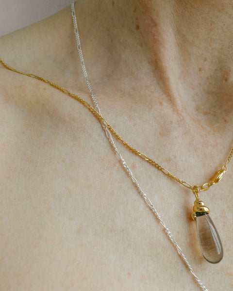 Lucky Charms necklace in Amaretto & Gold