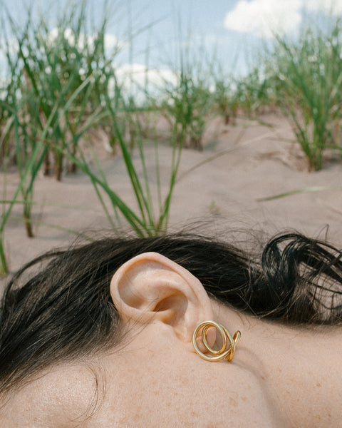 Letter to an Archaeologist earrings
