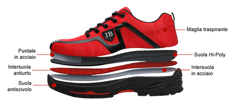 Tactical Shoes JB9 Red