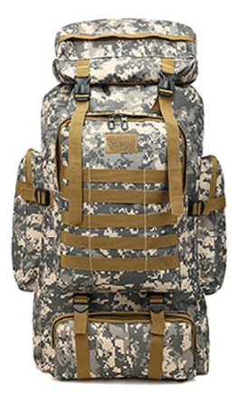 Bug out bag zaino outdoor da 80L