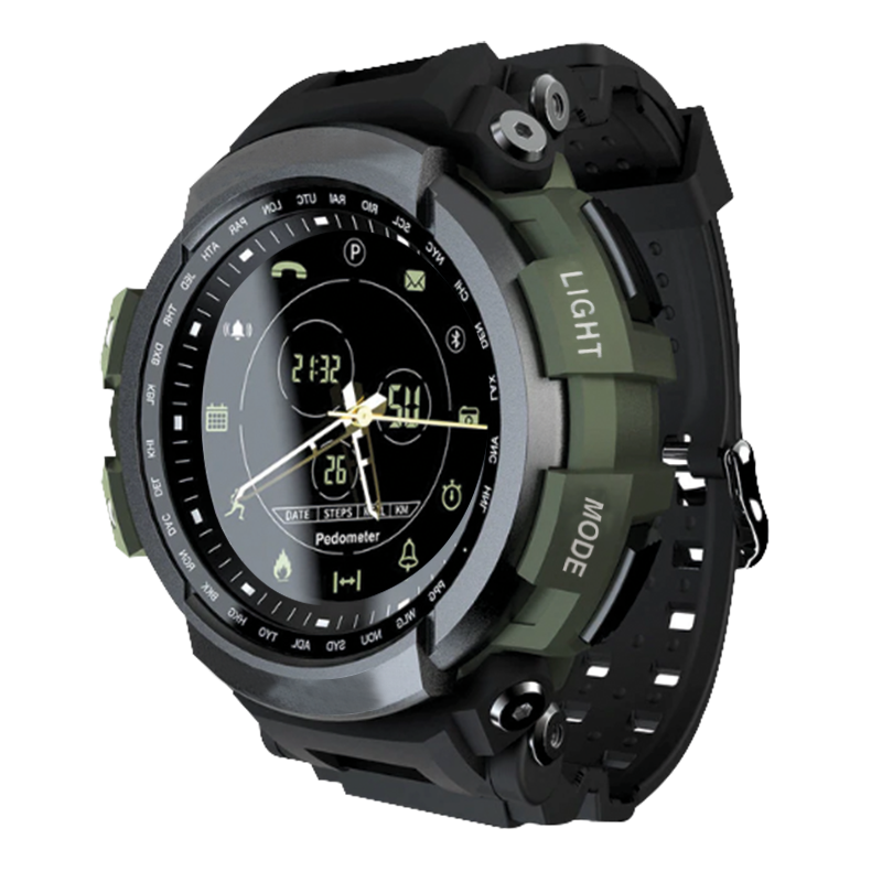 Tactical Smart Watch V7 Green Army