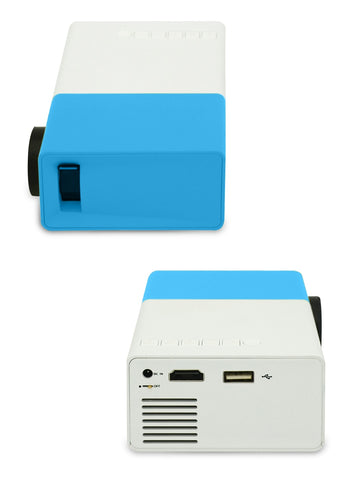 Mini Proiettore LED Portatile Blue