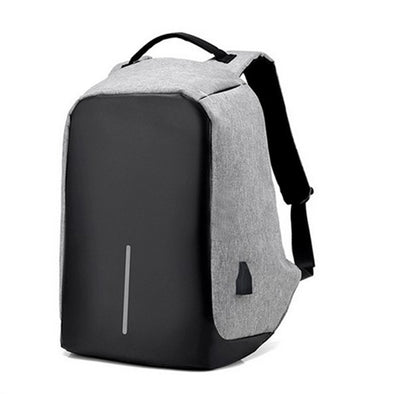 Zaino Tattico Antifurto X9 - Grigio backpack anti thief